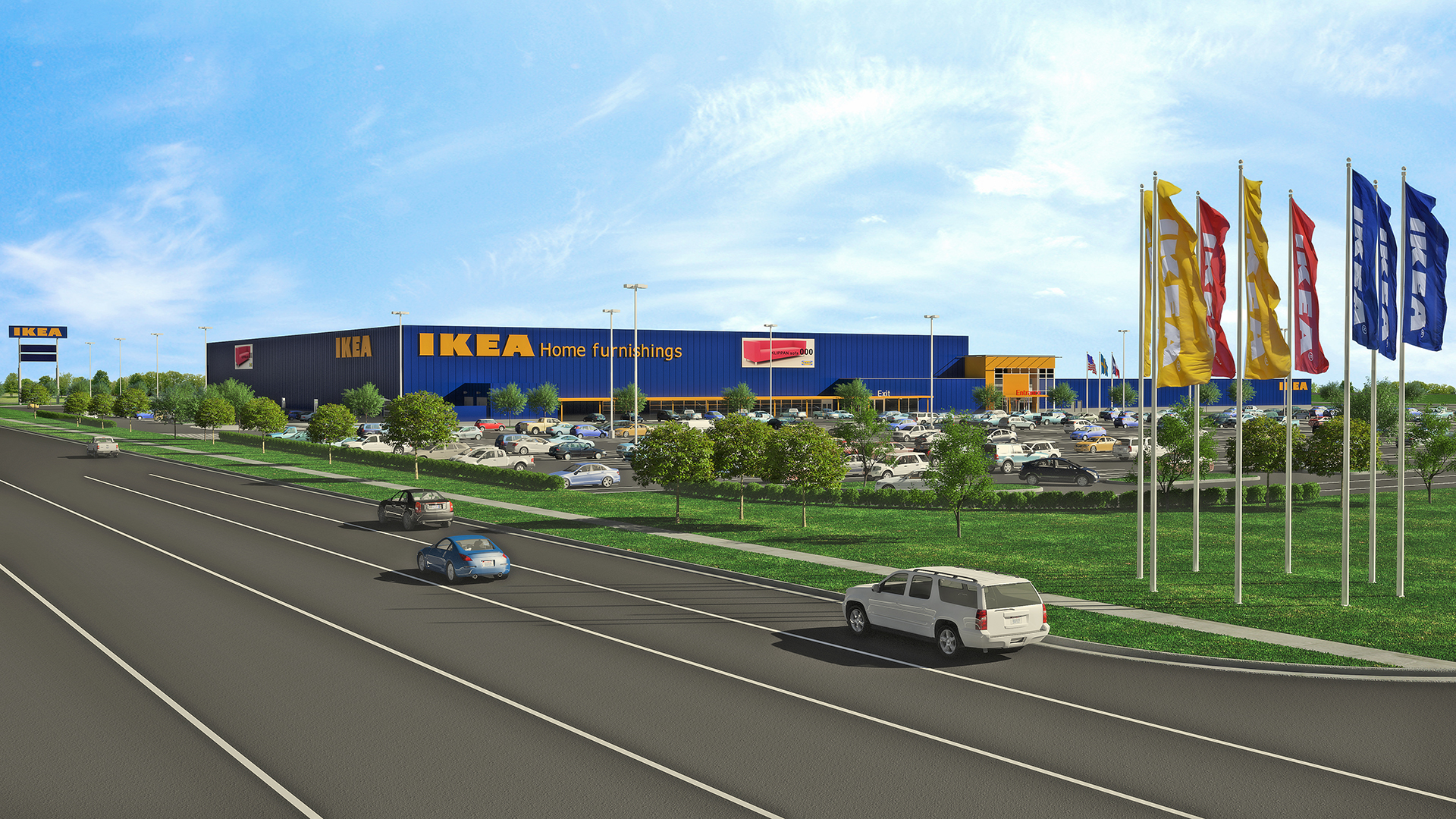 ikea grand prairie to open its doors in december. Black Bedroom Furniture Sets. Home Design Ideas