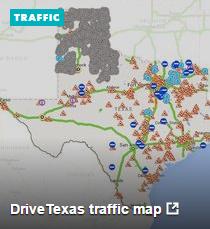 DriveTexas Traffic Map