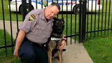 Retired cop allowed to purchase K-9 partner for $1