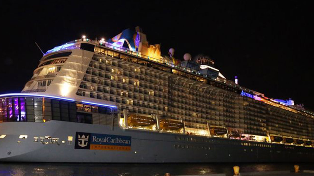 USCG Will Inspect Anthem of the Seas For Storm Damage