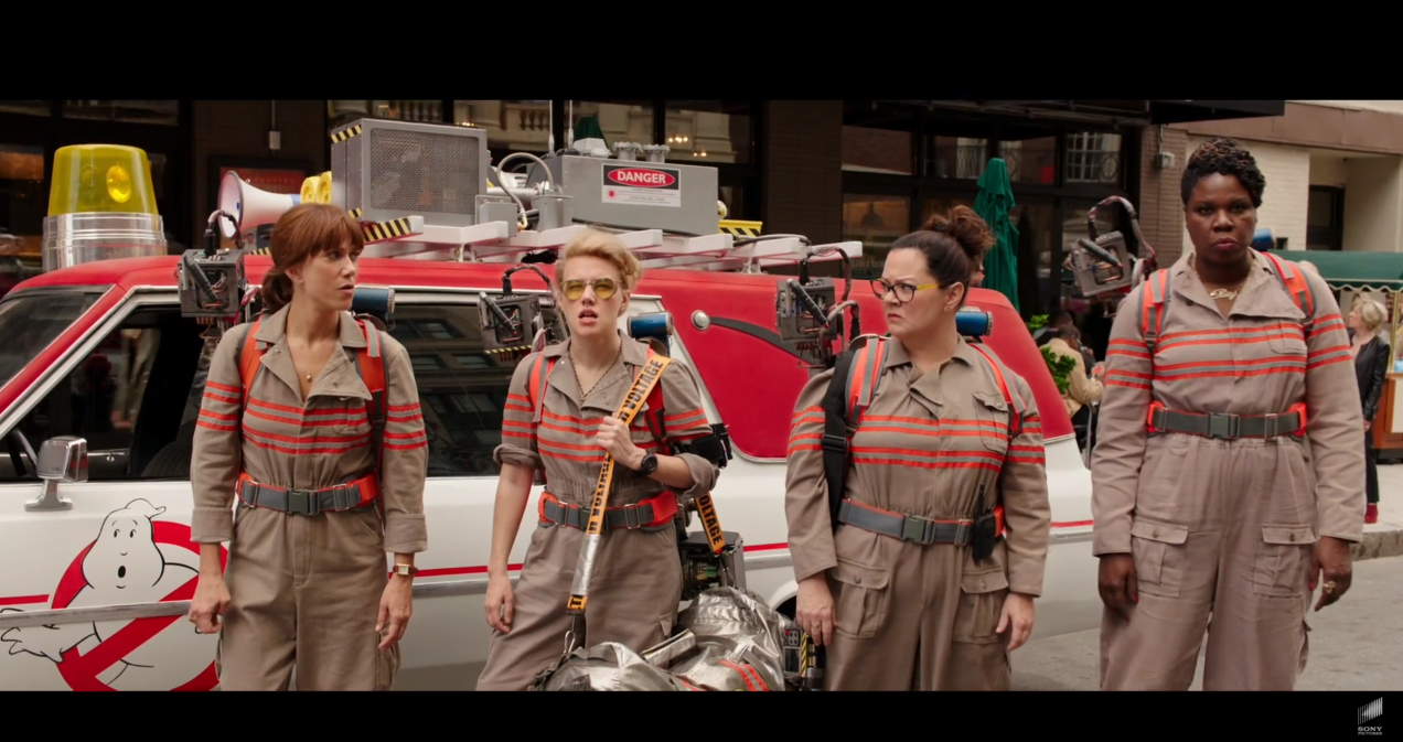 Ghostbusters (2016) trailer is missing one major thing