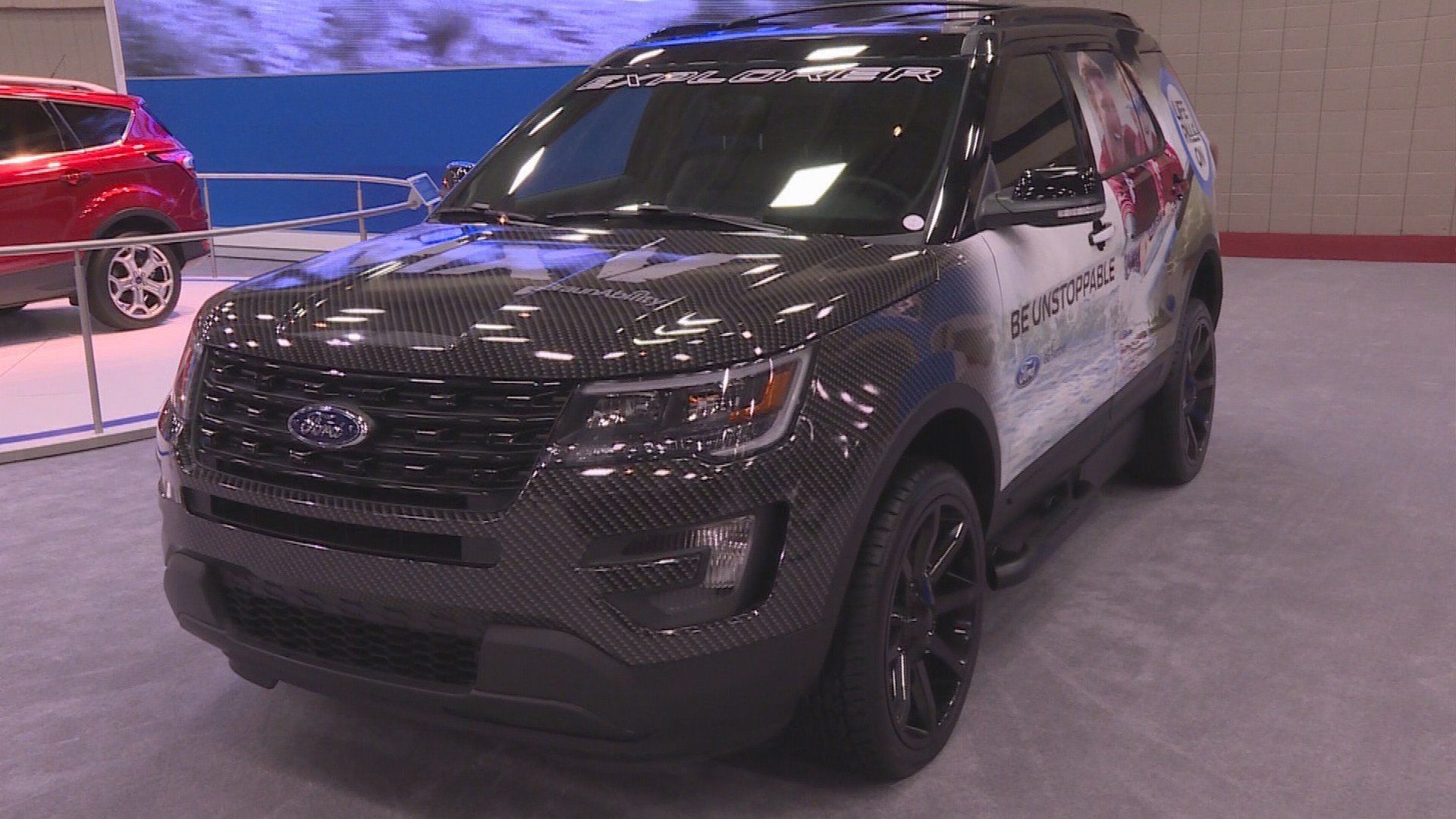 2016 Ford Explorer Limited >> Wheelchair-accessible SUV on display at Dallas Auto Show ...
