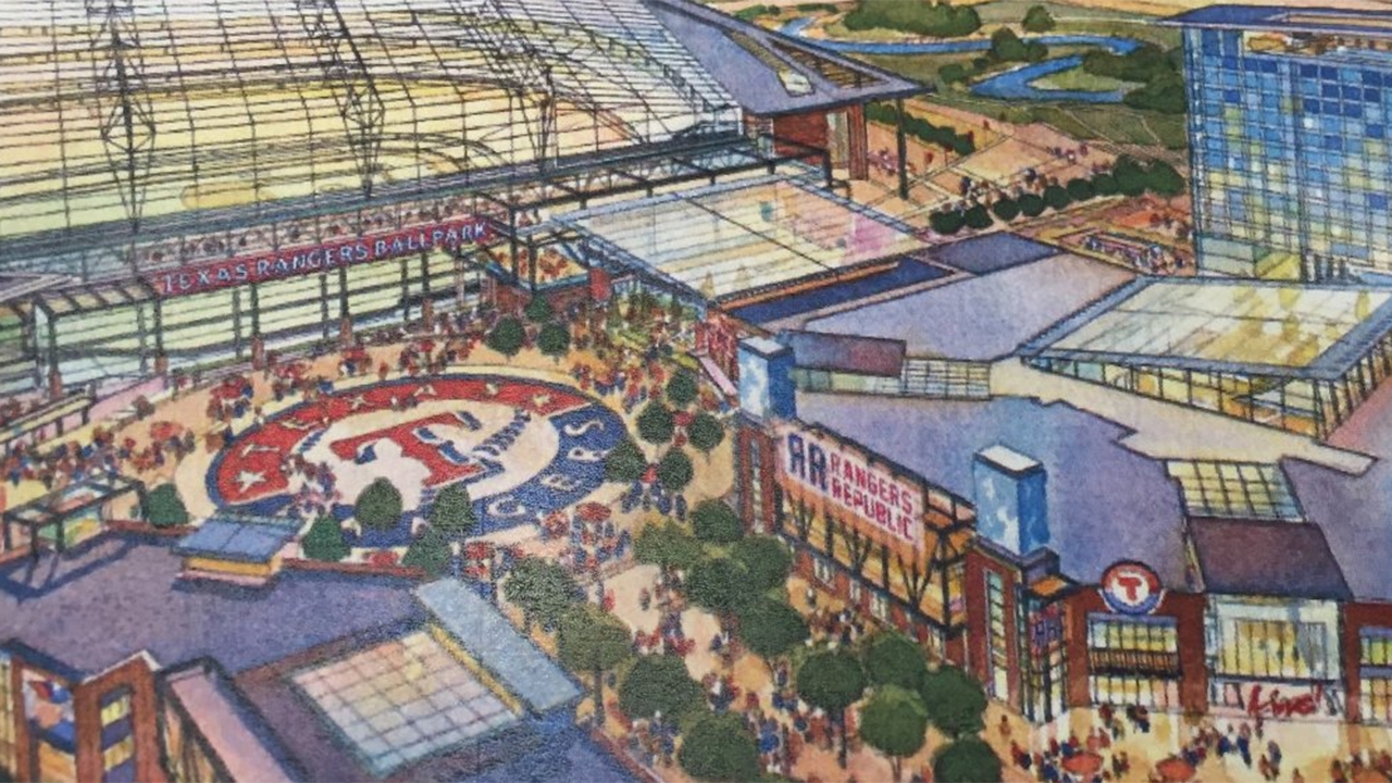 Dallas Based Hks To Design New Rangers Ballpark Wfaa Com