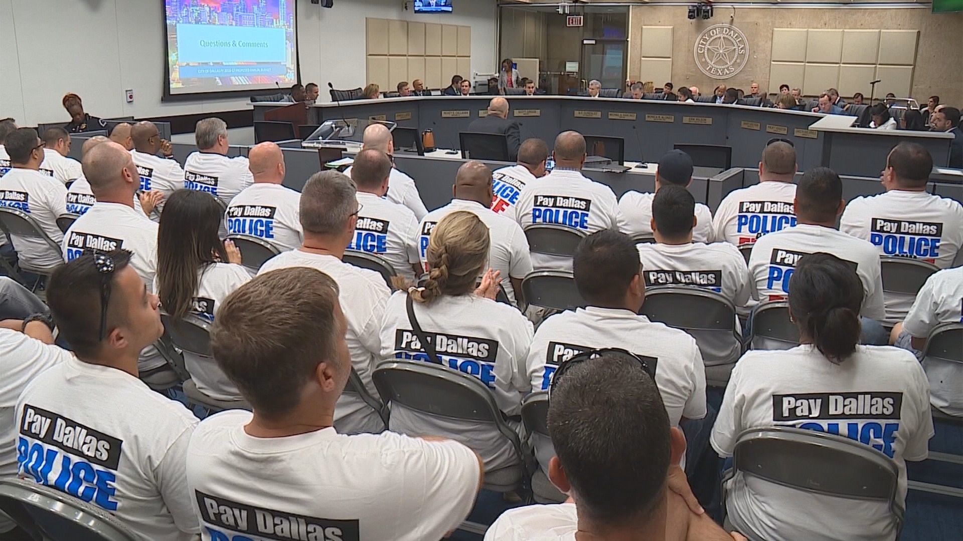 Dallas police fight to maintain numbers as other departments recruit from ranks | WFAA.com