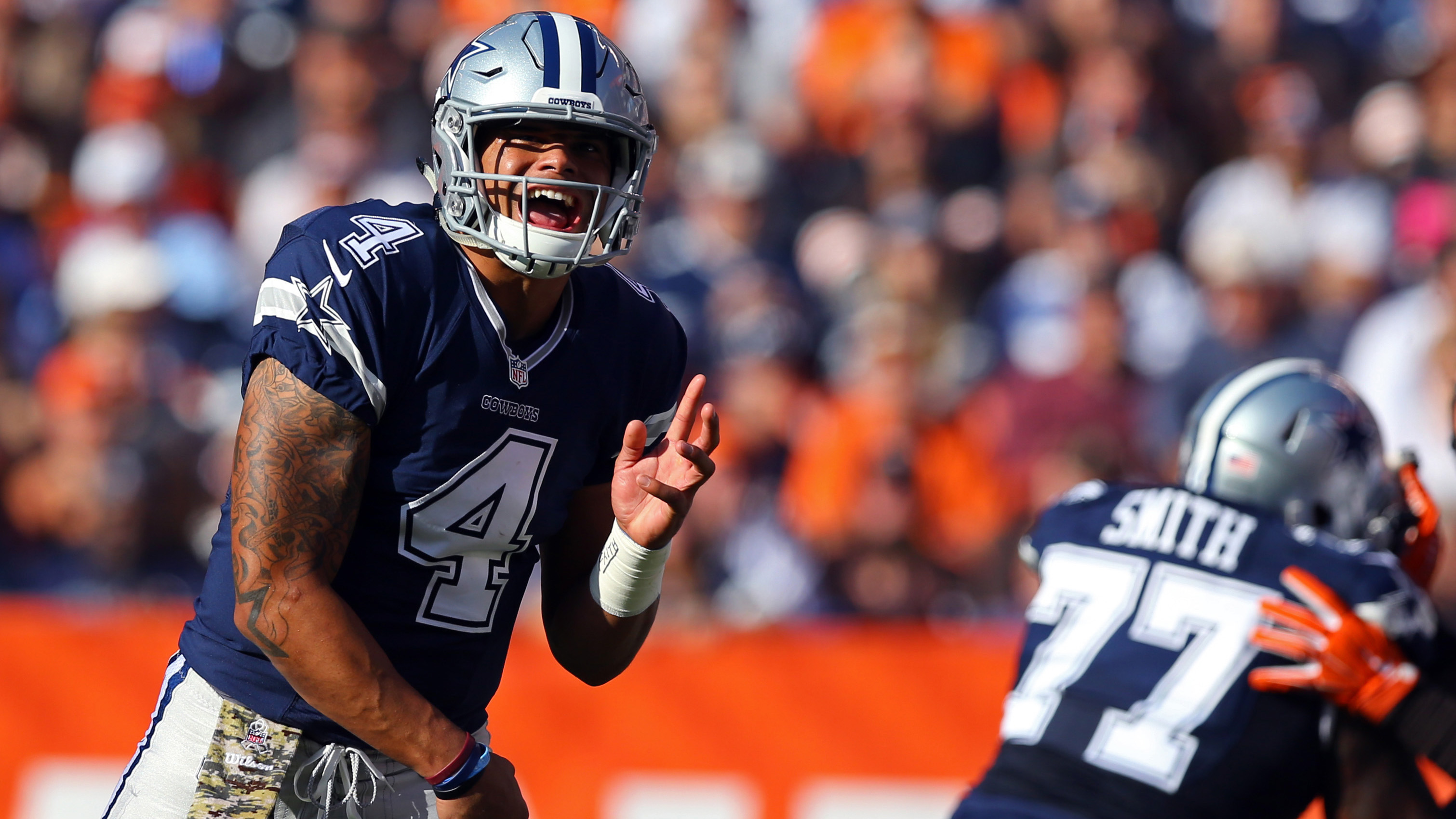 Source: Cowboys likely to 'stick with Prescott' when Romo ...