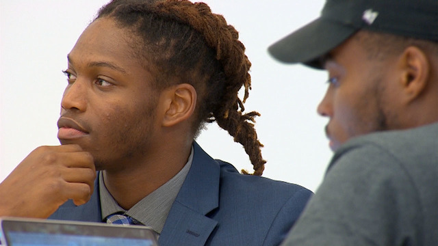 TCU senior football player is finalist for Rhodes ...