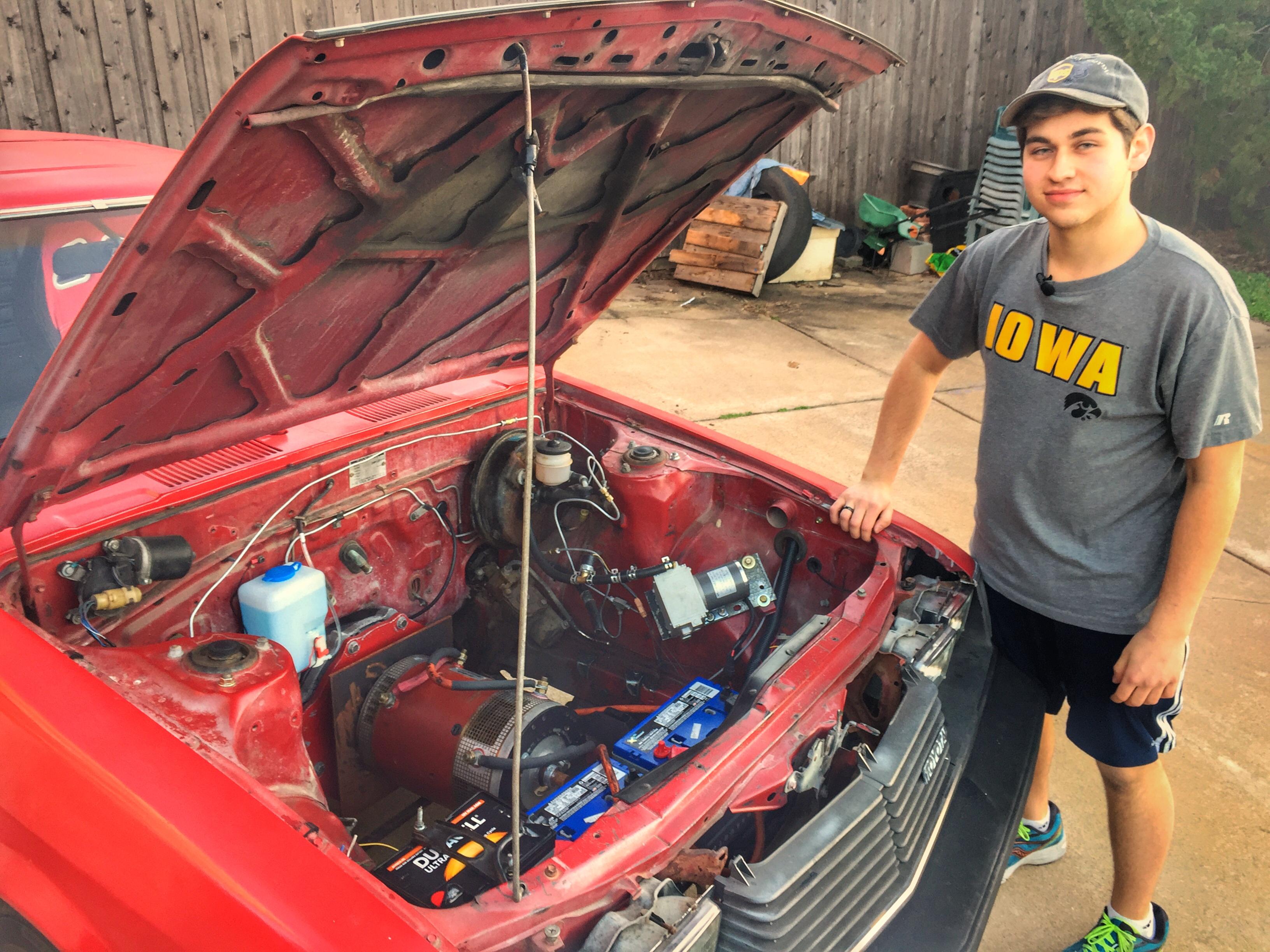 Adam Lansing Electric Car