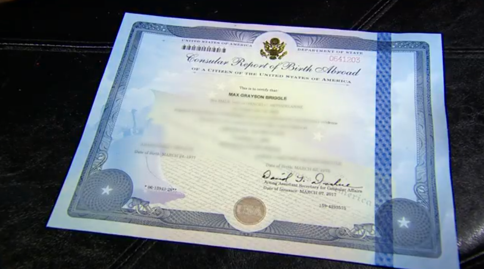 Transgender denton boy gets new birth certificate wfaa xflitez Image collections