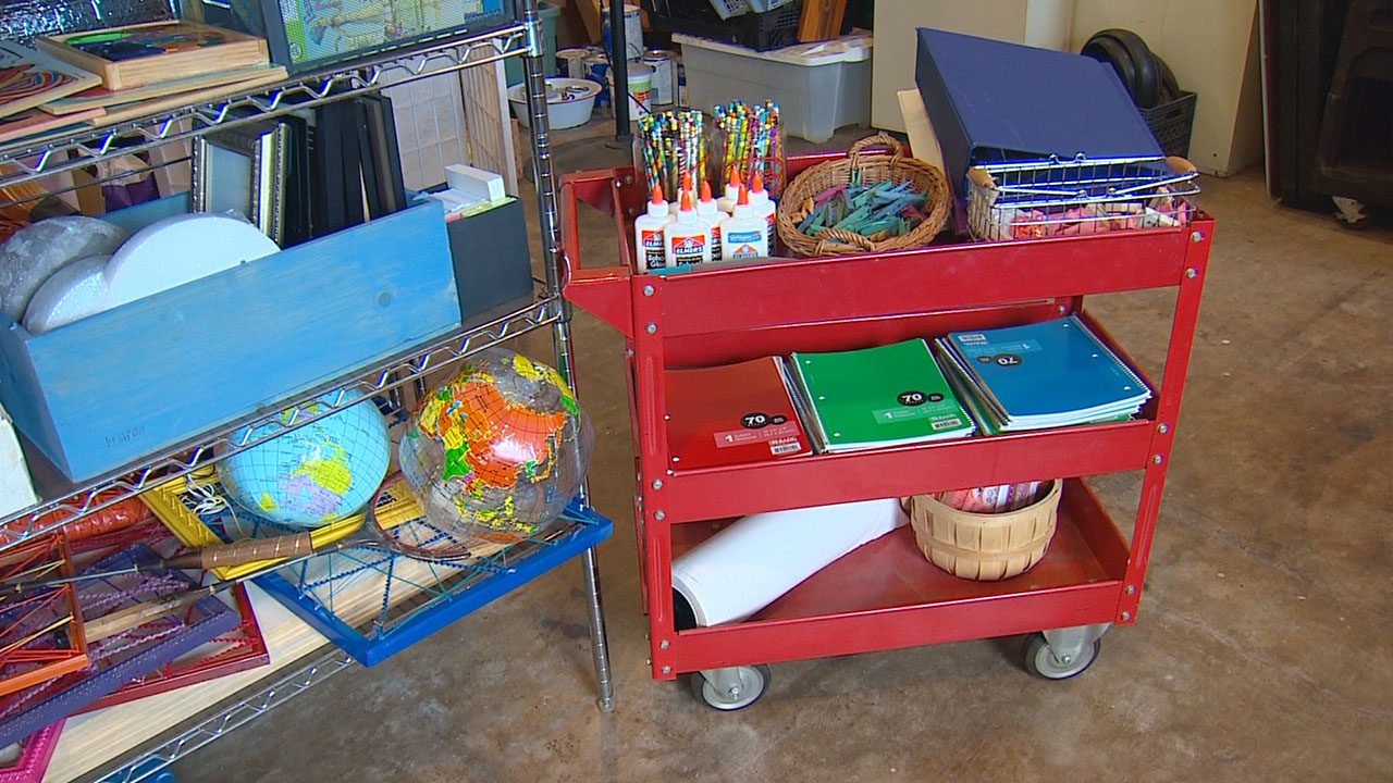 Classroom Decoration Ideas Fort Worth ~ Fort worth group finds old items re purposes them for the
